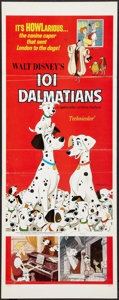 "Movie Posters:Animated, 101 Dalmatians (Buena Vista, R-1969). Insert (14"" X 36""), One Sheet(27"" X 40"") and Pressbook (11"" X 15""). Animated.. ... (Total: 3Items)"