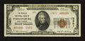 National Bank Notes:West Virginia, Parkersburg, WV - $20 1929 Ty. 2 The Peoples NB Ch. # 13621. ...