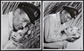 "Movie Posters:War, John Wayne and Lana Turner in ""The Sea Chase"" by Bert Six (WarnerBrothers, 1955). Photos (2) (8"" X 10""). War.. ... (Total: 2 Items)"