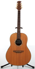Musical Instruments:Acoustic Guitars, 1990s Ovation Model 1517s Ultra Deluxe Natural Electric Acoustic Guitar....