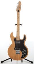 Musical Instruments:Electric Guitars, 1980s Peavey T-60 Natural Electric Guitar, #215704....