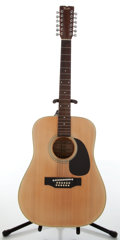 Musical Instruments:Acoustic Guitars, Circa 2000 Fender F-55-12 Natural 12-String Acoustic Guitar, #F7053250....