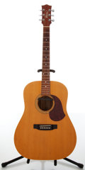 Musical Instruments:Electric Guitars, 1990s Maton M300 Natural Electric Acoustic Guitar....
