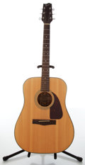 Musical Instruments:Acoustic Guitars, 1990s Fender F-210 Natural Acoustic Guitar, #A5105473. ...