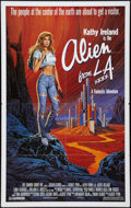 """Movie Posters:Fantasy, Alien from L.A. (Cannon, 1988). One Sheet (27"""" X 41""""). Fantasy....."""