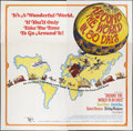 """Movie Posters:Adventure, Around the World in 80 Days (United Artists, R-1968). Six Sheet(81"""" X 81""""). Adventure.. ..."""