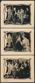 "Movie Posters:Comedy, Crossed Wires (Universal, 1923). Lobby Cards (3) (11"" X 14""). Comedy.. ... (Total: 3 Items)"