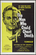 "Movie Posters:Drama, The Man Who Could Cheat Death (Paramount, 1959). One Sheet (27"" X 41""). Drama.. ..."