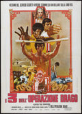 "Movie Posters:Action, Enter the Dragon (Warner Brothers, 1973). Italian 2 - Foglio (39"" X 55""). Action.. ..."