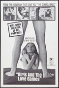 """Movie Posters:Adult, Girls and the Love Games Lot (Cinepix Film Properties, 1976). One Sheets (2) (27"""" X 41""""). Adult.. ... (Total: 2 Items)"""
