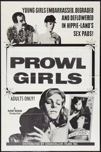 """Prowl Girls Lot (Chancellor Films, Inc., 1968). One Sheets (2) (27"""" X 41""""). Sexploitation. ... (Total: 2 Items..."""