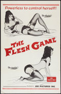 "Movie Posters:Sexploitation, The Flesh Game (JER Pictures, 1966). One Sheet (27"" X 41"").Sexploitation.. ..."