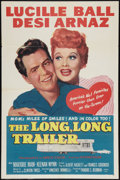"""Movie Posters:Comedy, The Long, Long Trailer (MGM, 1954). One Sheet (27"""" X 41""""). Comedy.. ..."""