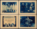 """Movie Posters:Comedy, Ladies Must Dance (Gayety Film, 1920). Title Lobby Card and Lobby Cards (3)(11"""" X 14""""). Comedy.. ... (Total: 4 Items)"""
