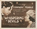 "Movie Posters:Drama, Whispering Devils (Equity, 1920). Half Sheet (22"" X 28""). Drama.. ..."