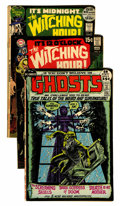 Bronze Age (1970-1979):Horror, Ghosts and Witching Hour DC Group (DC, 1969-72).... (Total: 14Comic Books)