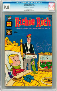 Richie Rich #102 File Copy (Harvey, 1971) CGC NM/MT 9.8 Off-white to white pages