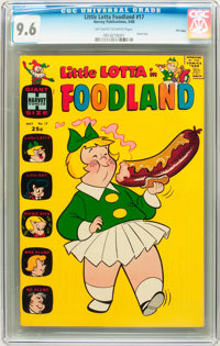 Little Lotta Foodland #17 File Copy (Harvey, 1969) CGC NM+ 9.6 Off-white to white pages