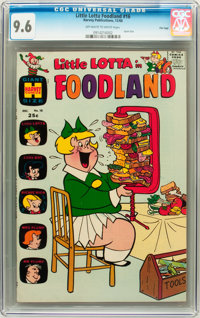 Little Lotta Foodland #16 File Copy (Harvey, 1968) CGC NM+ 9.6 Off-white to white pages