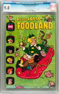 Silver Age (1956-1969):Humor, Little Lotta Foodland #14 File Copy (Harvey, 1967) CGC NM/MT 9.8 Off-white to white pages....