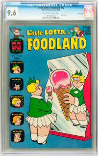 Little Lotta Foodland #12 File Copy (Harvey, 1966) CGC NM+ 9.6 Off-white to white pages