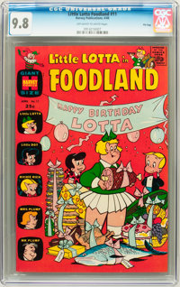 Little Lotta Foodland #11 File Copy (Harvey, 1966) CGC NM/MT 9.8 Off-white to white pages