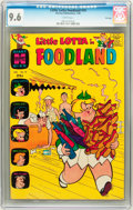 Silver Age (1956-1969):Humor, Little Lotta Foodland #10 File Copy (Harvey, 1966) CGC NM+ 9.6 White pages....