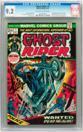Bronze Age (1970-1979):Horror, Ghost Rider #1 (Marvel, 1973) CGC NM- 9.2 Off-white to whitepages....