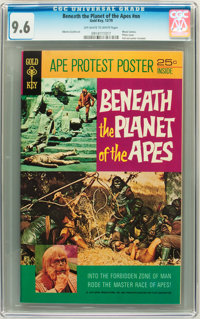 Beneath the Planet of the Apes #nn (Gold Key, 1970) CGC NM+ 9.6 Off-white to white pages