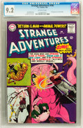 Silver Age (1956-1969):Science Fiction, Strange Adventures #184 (DC, 1966) CGC NM- 9.2 Off-white pages....