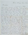 Autographs:Military Figures, James Barbour Terrill Autograph Letter Signed. ...