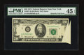 Error Notes:Foldovers, Fr. 2071-B $20 1974 Federal Reserve Note. PMG Choice Extremely Fine 45 EPQ.. ...