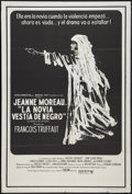 """Movie Posters:Mystery, The Bride Wore Black (United Artists, 1968). Argentinean Poster (29"""" X 43""""). Mystery.. ..."""