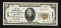 National Bank Notes:Pennsylvania, Honeybrook, PA - $20 1929 Ty. 1 The First NB Ch. # 1676. ...