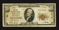 National Bank Notes:Pennsylvania, Indiana, PA - $10 1929 Ty. 1 The First NB Ch. # 313. ...