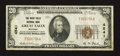National Bank Notes:Montana, Great Falls, MT - $20 1929 Ty. 1 The Great Falls NB Ch. # 4541. ...