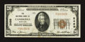 National Bank Notes:Maryland, Cambridge, MD - $20 1929 Ty. 1 The NB of Cambridge Ch. # 2498. ...