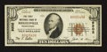 National Bank Notes:Pennsylvania, Riegelsville, PA - $10 1929 Ty. 1 The First NB Ch. # 9202. ...