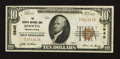 National Bank Notes:Pennsylvania, Berwyn, PA - $10 1929 Ty. 1 The Berwyn NB Ch. # 3945. ...