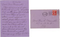 Autographs:Statesmen, Liliuokalani, Queen of Hawaii, Autograph Letter Signed. ...