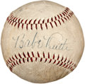 Autographs:Baseballs, 1938 Brooklyn Dodgers Signed Baseball with Babe Ruth....