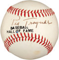 Autographs:Baseballs, 1950's Pie Traynor Single Signed Baseball....
