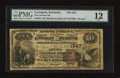 National Bank Notes:Kentucky, Covington, KY - $10 1882 Brown Back Fr. 485 The German NB Ch. #1847. ...