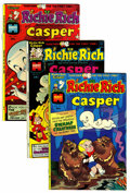 Bronze Age (1970-1979):Cartoon Character, Richie Rich and Casper #1-45 File Copy Group (Harvey, 1974-82)Condition: Average NM-.... (Total: 86 Comic Books)