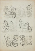 Original Comic Art:Miscellaneous, Dennis the Menace Try-Out Page Original Art (undated)....