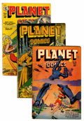 Golden Age (1938-1955):Science Fiction, Planet Comics Group (Fiction House, 1946-51).... (Total: 5 ComicBooks)