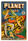 Golden Age (1938-1955):Science Fiction, Planet Comics #58 (Fiction House, 1949) Condition: FN-....