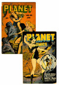 Golden Age (1938-1955):Science Fiction, Planet Comics #39 and 40 Group (Fiction House, 1945-46).... (Total:2 Comic Books)