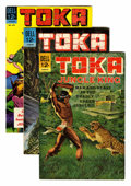 Silver Age (1956-1969):Adventure, Toka File Copy Group (Dell, 1964-67) Condition: Average VF+.... (Total: 6 Comic Books)