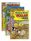 Bronze Age (1970-1979):Cartoon Character, Richie Rich and Dollar the Dog #1-24 File Copy Group (Harvey,1977-84) Condition: Average NM-.... (Total: 55 Comic Books)